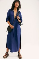 Free People Eva Shirt Dress by Free People, French Navy, XS