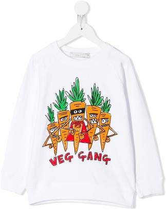 Stella Mccartney Kids Veg Gang sweatshirt