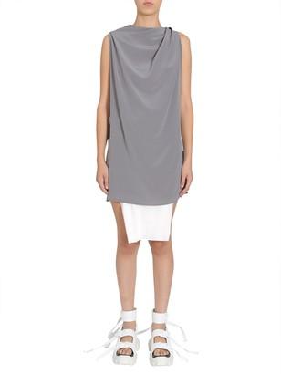 Rick Owens silk gown