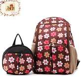 My Share Mall MSM 2 Sets Bag,Mummy Baby Diaper Changing Backpack + Kids Safety Harness,Anti-lost Backpack