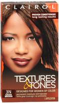 Clairol Textures & Tones Permanent Haircolor Cocoa Brown 3N
