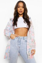 Thumbnail for your product : boohoo Floral Print Festival Mac