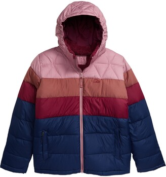 L.L. Bean Kids' Water Resistant Hooded Down Puffer Jacket