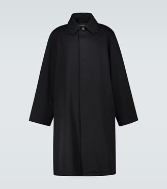 Balenciaga Oversized cotton carcoat