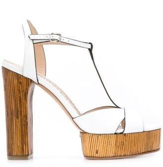 Casadei Midollino platform sandals