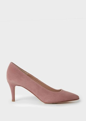 Hobbs Elouise Suede Stiletto Court Shoes