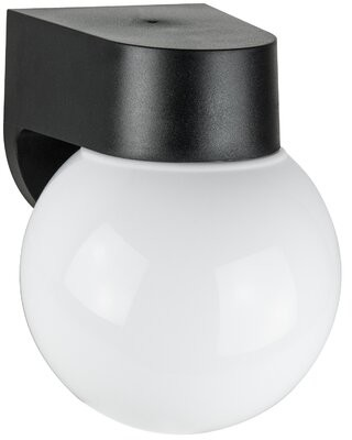 Ebern Designs Guang Black 1 Bulb Outdoor Armed Sconce Size 7 25 H X 5 13 W X 5 13 D Shopstyle