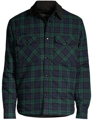 Rag & Bone Plaid Padded Jack Shirt