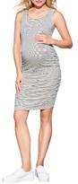 Maternal America Women's Ruched Maternity/nursing Dress