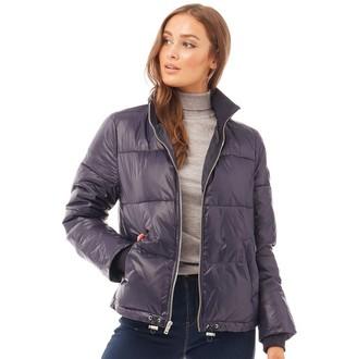 UGG Womens Izzie Puffer Nylon Jacket Navy