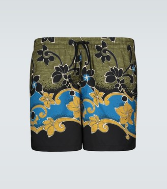 Dries Van Noten Floral printed swim shorts