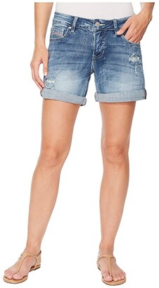Jag Jeans Alex Boyfriend Denim Shorts (Mid Vintage) Women's Shorts