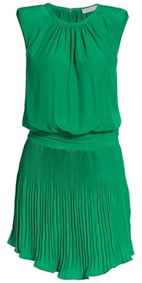 Ramy Brook Jules Sleeveless Blouson Mini Dress