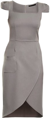 Grey Tulip Dress