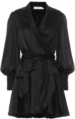 Zimmermann Silk wrap minidress