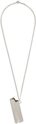 Ambush Silver Lighter Case Necklace