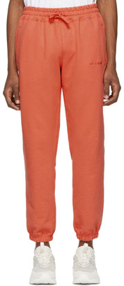 Leon Aime Dore Orange French Terry Lounge Pants