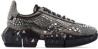 Jimmy Choo Diamond crystal embellished sneakers