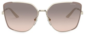 Prada 59MM Butterfly Sunglasses