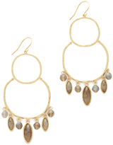 Gorjana Eliza Gemstone Chandelier Earrings