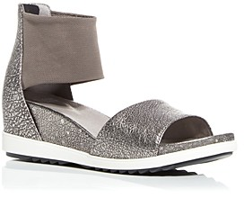 Eileen Fisher Women's Vibe Wedge Sandals