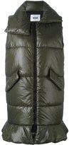MSGM sleeveless padded coat