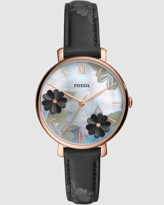 Fossil Black Jacqueline Analogue Watch