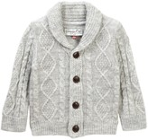 Sovereign Code Ernesto Cable Knit Cardigan (Baby Boys)