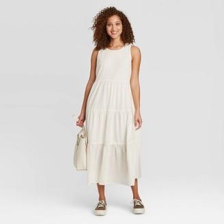 Women's Sleeveless Tiered Dress - A New DayTM