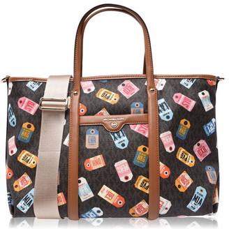 MICHAEL Michael Kors MMK Beck Print Tote Bag