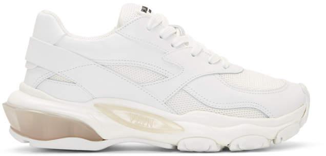 Valentino White Garavani Bounce Sneakers