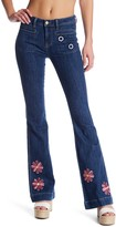 Genetic Los Angeles Liza Mid Rise Flare Leg Jeans