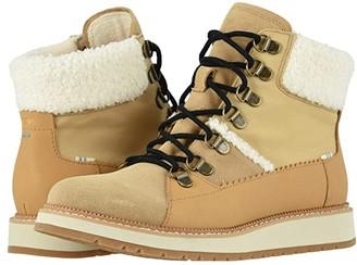 Toms Mesa (Waterproof Desert Tan Suede/Leather) Women's Shoes