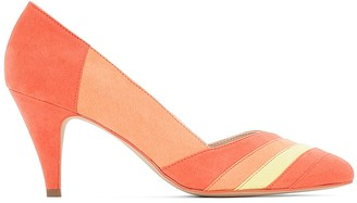La Redoute Collections Multi-Coloured Graphic Heels