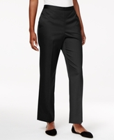 Alfred Dunner Petite Lace It Up Pull-On Pants
