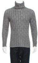 Dolce & Gabbana Embellished Turtleneck Sweater