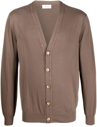 Altea fine knit V-neck cardigan