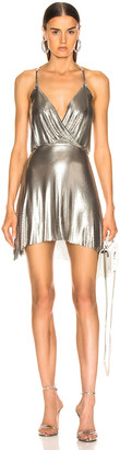 Fannie Schiavoni Jourdana Dress in Silver | FWRD