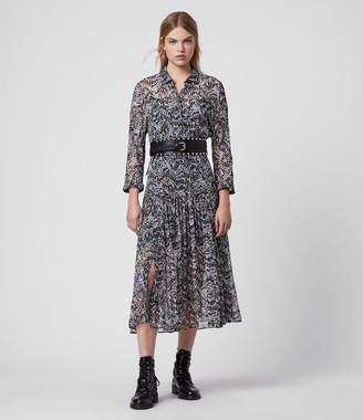 AllSaints Eley Mara Dress