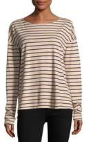 Current/Elliott The Brenton Long-Sleeve Striped Tee