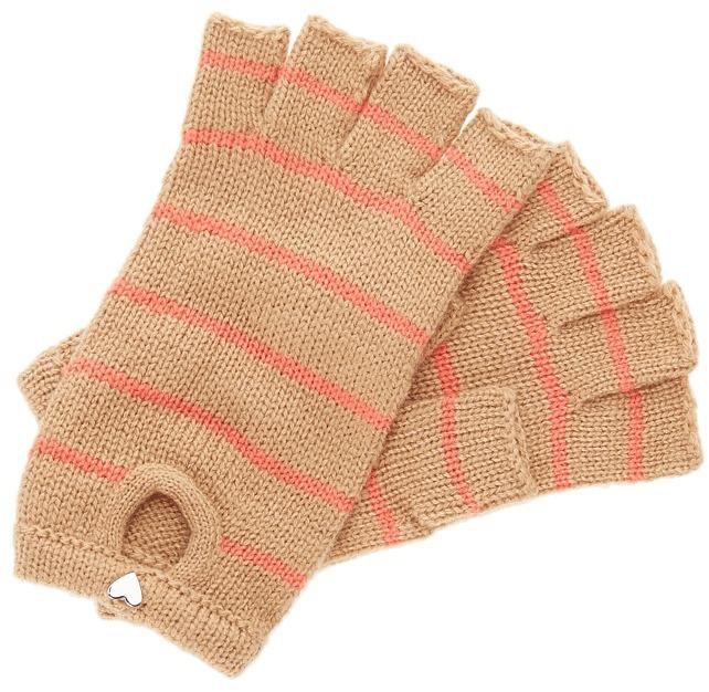 BCBGeneration Heart Fingerless Gloves