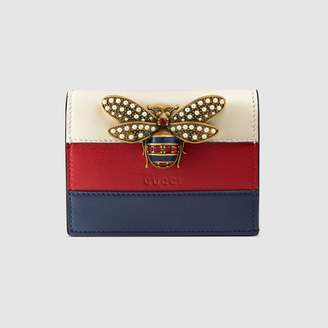 Gucci Queen Margaret GG card case wallet