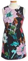 Milly Minis Girl's Floral Print Sheath Dress