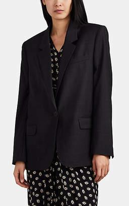 Etoile Isabel Marant Women's Verix Plaid Virgin Wool Blazer - Gray