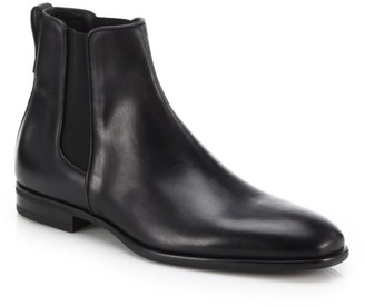 Aquatalia Adrian Leather Chelsea Boots