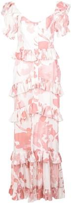 Caroline Constas Iva tiered dress