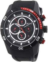 HUGO BOSS 1512661 Round Chronograph Rubber Strap Men's Watch