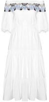 Peter Pilotto Long Pallas Cotton-blend Dress