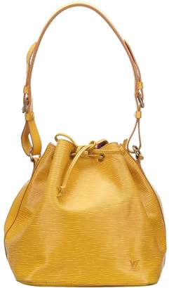 Louis Vuitton Noe Yellow Leather Bags