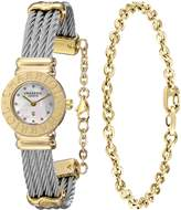 Charriol Women's 028C540326 St Tropez Analog Display Swiss Quartz Silver Watch